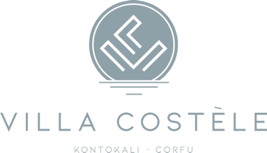 Luxury Villa Costèle in Kontokali, Corfu | Logo